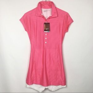 Nike | Golf Pink Athletic Tennis Dress with Shorts